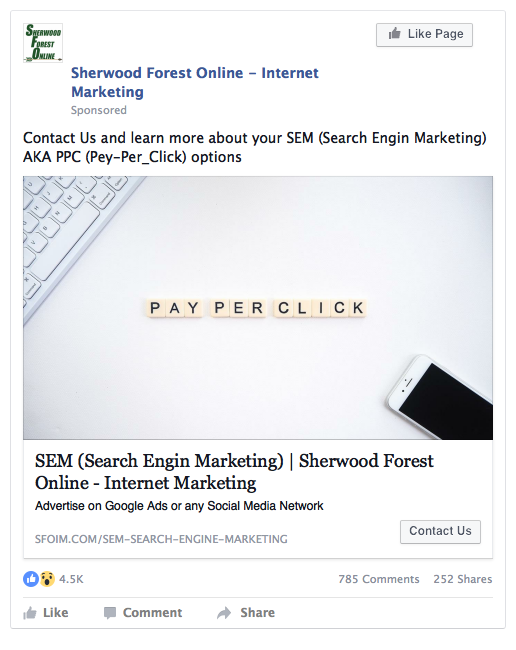 want-step-ad-example-marketing-funnel-sherwood-forest-online-interenet-marketing